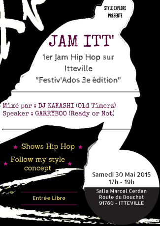 JAM ITT' : 1er Hip Hop jam session by Style Explore
