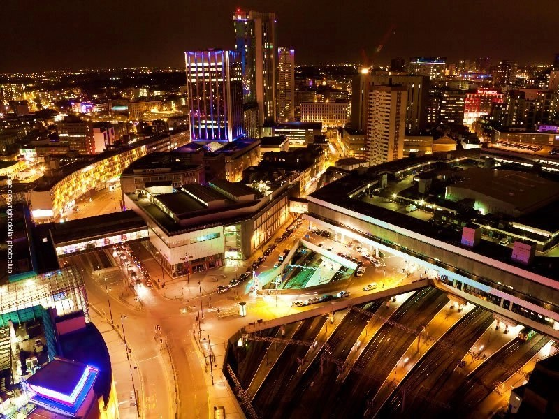 Birmingham night