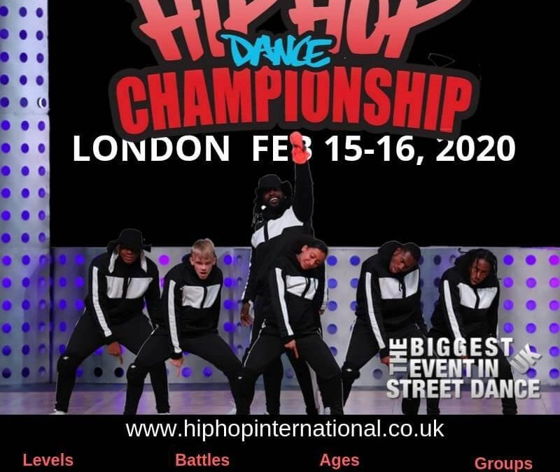 Announcing the UK Hip Hop Dance Championship 2020 – LONDON!