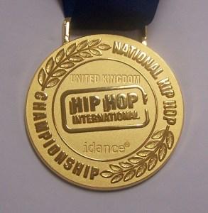 HHI UK Gold Medal
