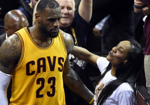 Lebron James Mom Gloria James Spotted Out In Club With Her