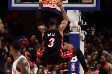 Dwyane Wade was drawing on personal experiences when he said the Heat/Knicks game should have been canceled last week.