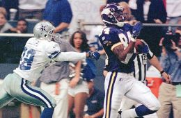 Fact: Randy Moss' favorite Thanksgiving Day meal? Dallas Cowboy defensive backs, served burnt to a crisp.