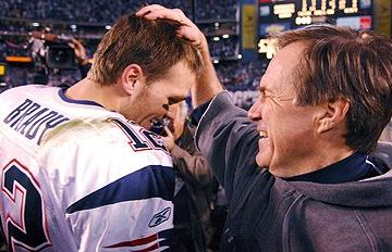 Tom Brady and Bill Belichick weren't supposed to make it this far, but here they are...again.