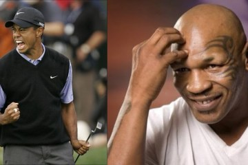 Though they're drastically different people, the stories of Tiger Woods and Mike Tyson are remarkably similar.