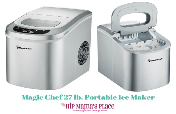 Magic Chef 27 lb. Portable Countertop Ice Maker Review ...