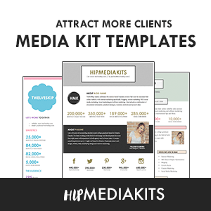 Shop Media Kit Templates