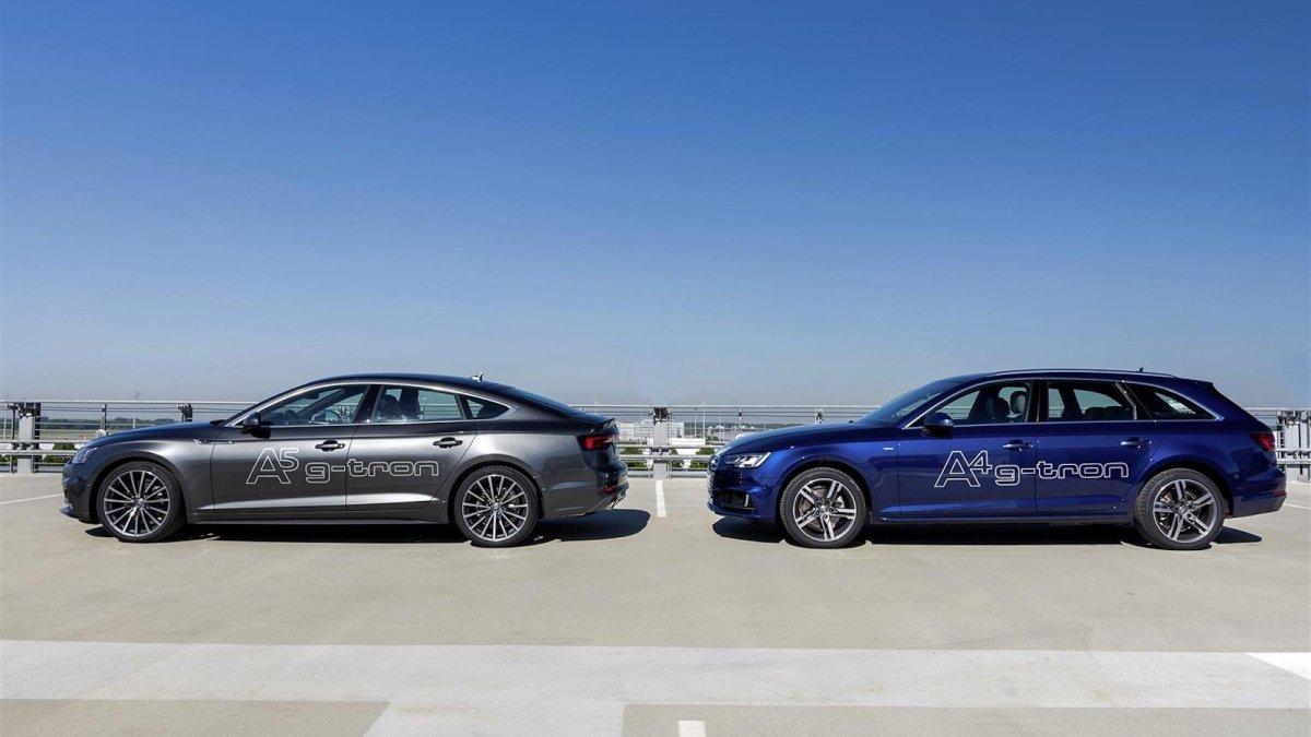 Audi gamma g-tron: restyling per i modelli a metano