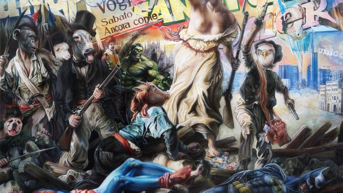 Street Art In Store Superheroes: la mostra collettiva all'NH Collection Milano President