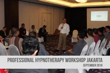 Pelatihan Professional Hipnoterapi Jakarta