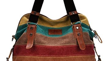 Casual Style Canvas Hobo Bag Tote Bags - Crossbody Shouder Bag - Fit 14  Laptop b9404d1c97f54