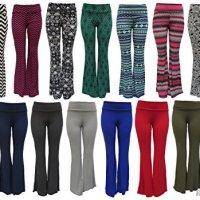 Red Hanger Women's High Waist Slinky Palazzo Pants Regular and Plus Sizes