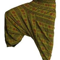 Third Eye Export Men's Indian Alibaba Om Gypsy Hippie Yoga Meditation Harem Pants
