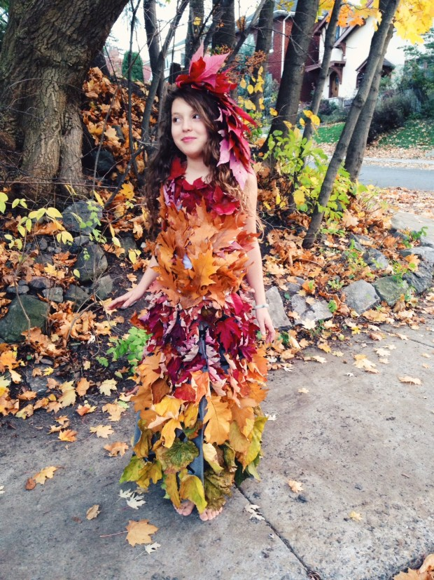 Mother Nature Leaf Dress Hippie in Disguise Danielle Chassin