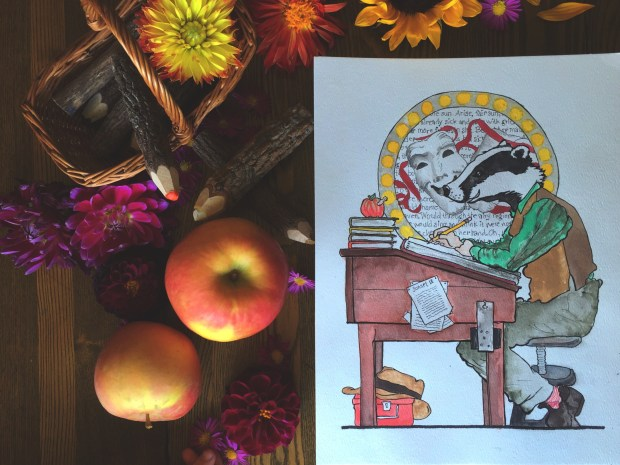 09 Art badger