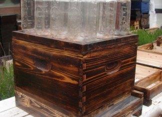 Καταπληκτική ιδέα: Μελισσοκόμος έφτιαξε κυψέλη νέας «τεχνολογίας» δείτε πως οι μέλισσες βάζουν το μέλι στο βάζο!!