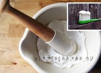 Φτιάξτε μόνοι σας Φυσική-Σπιτική Οδοντόκρεμα : Για γερά και λευκά δόντια!