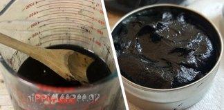 Η Θαυματουργή Μαύρη Αλοιφή των Άμις- Πως να τη Φτιάξετε
