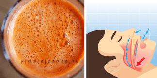 Πώς να μειώσετε το ροχαλητό (άπνοια ύπνου) με έναν απλό χυμό