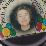 lucille rains with balloons around her headshot