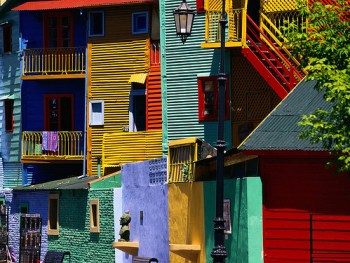 colorful apartments in buenos aires