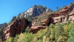 call of the canyon trail view of arizona mountains and clear blue sky