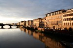 shot of florence italy by jon rawlinson river
