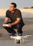 al monelli with drone camera