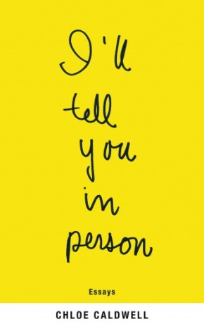 cover of I'll tell you in person - all yellow