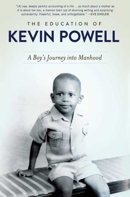 he-education-of-kevin-powell cover - kevin as a toddler