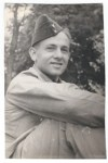 author's father in military uniform