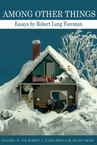 among other things cover house in winter scene - interior of home shown, like a dollhouse