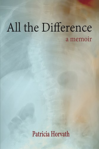 all the difference cover xray if curved spine in background with colors so it looks somewhat abstract