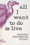 cover of all i want to do is live text and ostrich