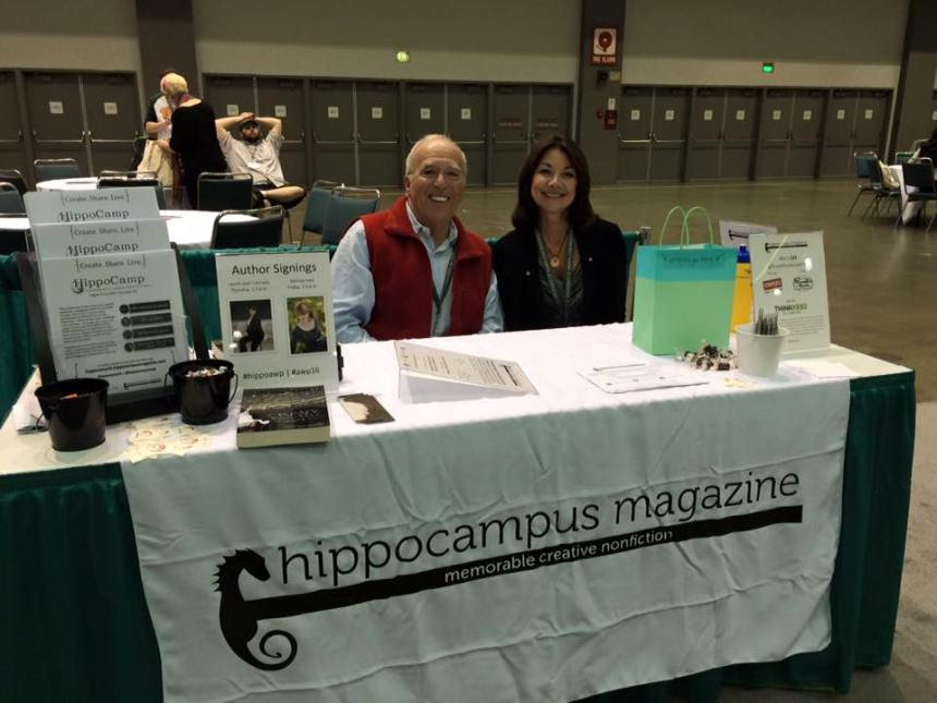 tony and pamela from hippocampus at awp 2016