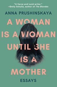 a-woman-is-a-mother cover plain text over back of woman's head