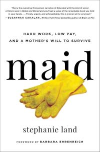 cover of made - title with central image of dirty yellow gloves