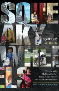 cover of squeaky wheel, various family photos