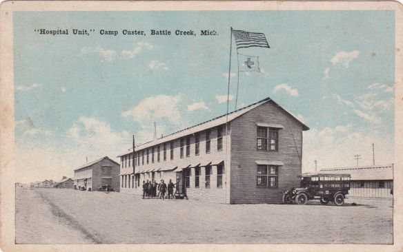 Image result for camp custer guard house photo