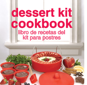 Fagor Pressure Cooker Dessert Kit Recipe Booklet