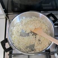 evaporating wine for pressure cooker risotto
