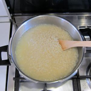 pressure cooker risotto - after pressure cooking