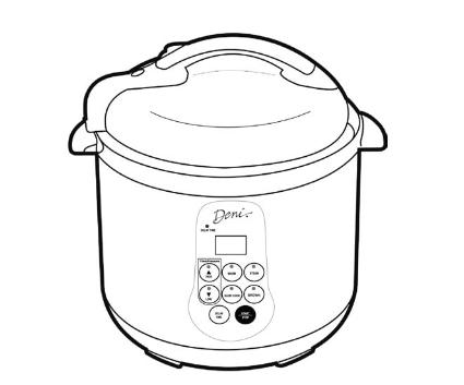 Deni Pressure Cooker Manual ⋆ hip pressure cooking