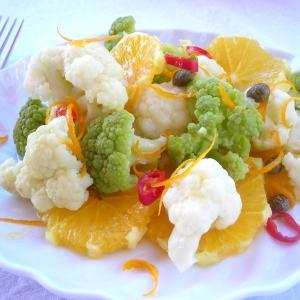 Spicy Cauliflower Salad Pressure Cooker Recipe