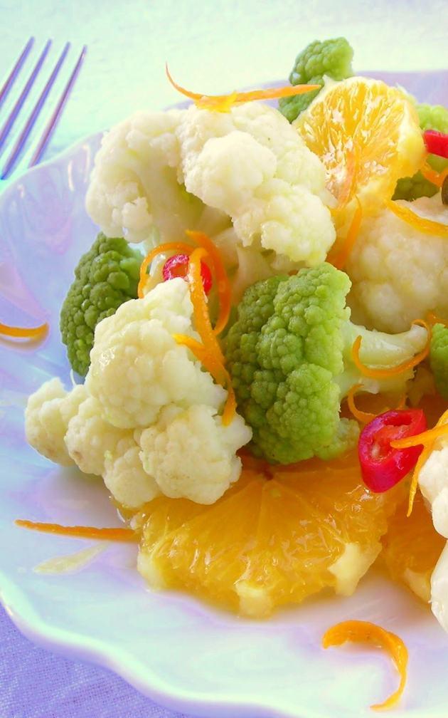 Cauliflower Salad Pressure Cooker Recipe