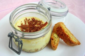 Limoncello Ricotta Cheesecake-in-a-jar