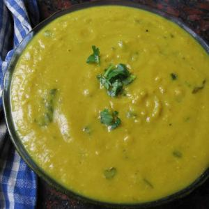 Evas' Bright Yellow, Red Lentil Pressure Cooker Soup - Reader Recipe