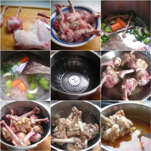 steam roasted turkey in fissler pressure cooker