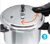 IMUSA Aluminum Pressure Cooker Manual