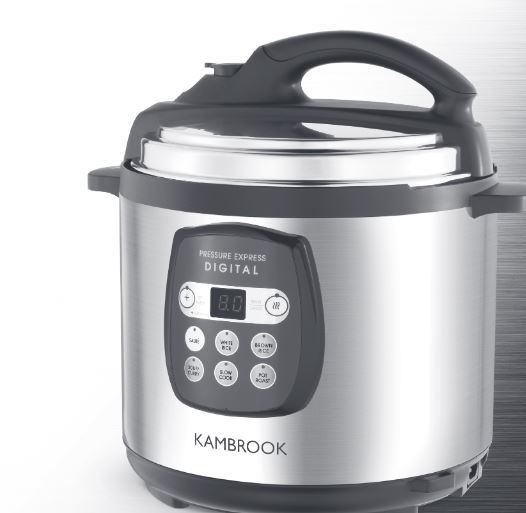 kambrook digital electric pressure cooker manual hip pressure cooking rh hippressurecooking com Kambrook Appliances kambrook rice express 5 manual